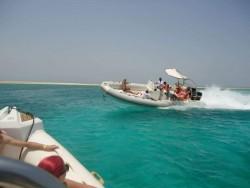 رحله القارب السريع في شرم الشيخ
